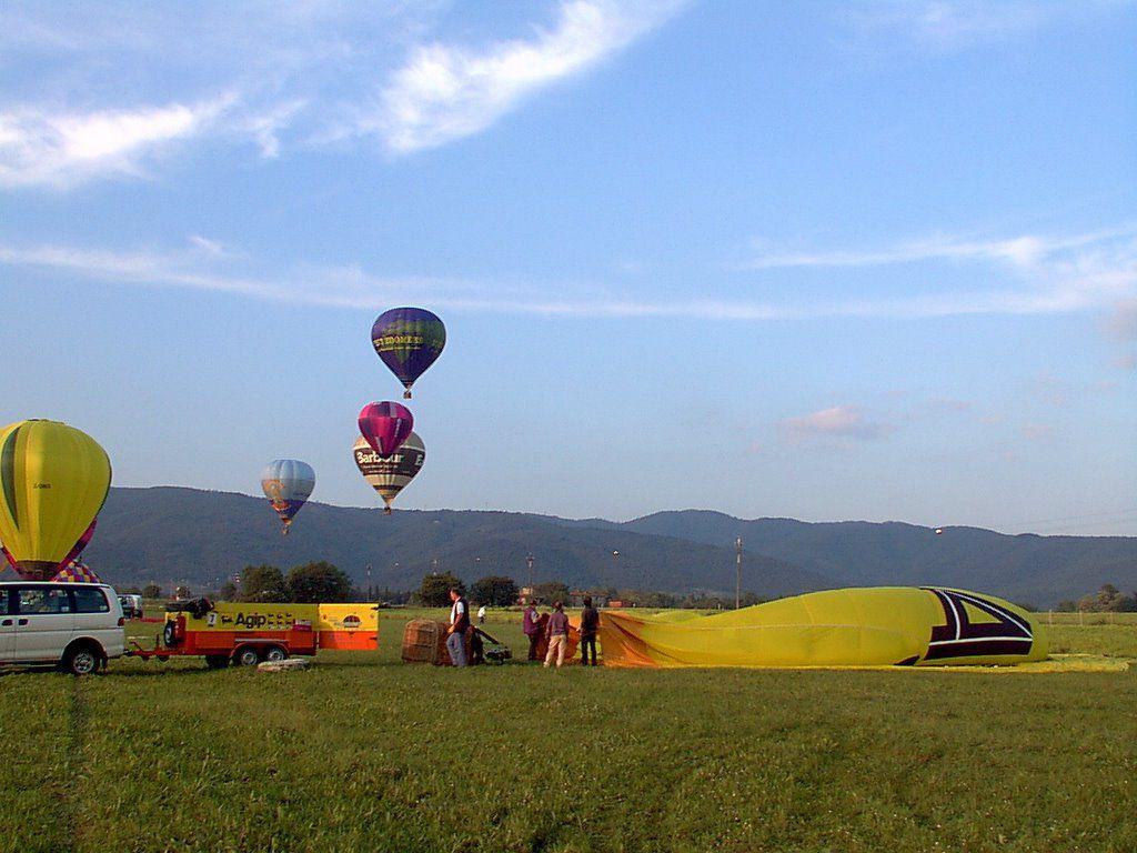 Ballonfahrt in der Toskana  1