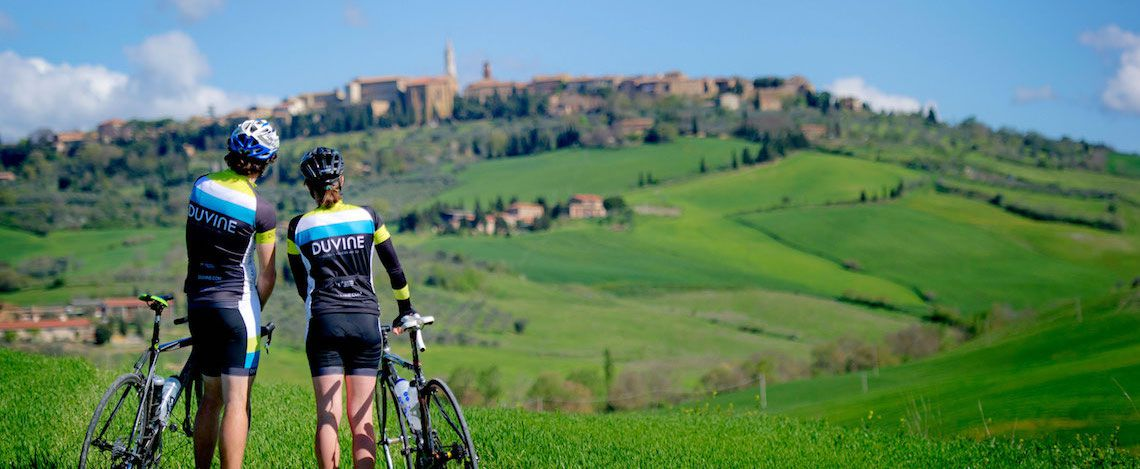 Tour en bicicleta en Monteriggioni 1
